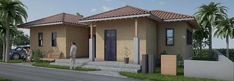 住宅建築CGパース制作