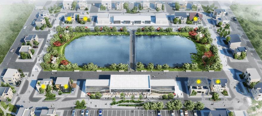 VR上に展開する全く新しい住宅公園
