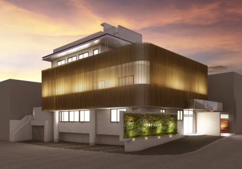 (仮)商業施設建築CGパース制作